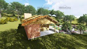 Minha casa pré fabricada modelo São José 09