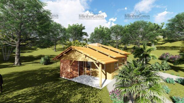 Minha casa pré fabricada modelo São José 10