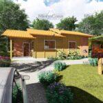 Minha casa pré fabricada modelo São José 11