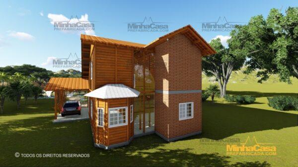 Minha casa pré fabricada modelo São Paulo 05