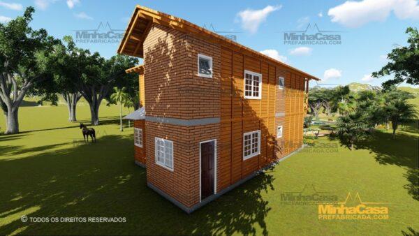 Minha casa pré fabricada modelo São Paulo 06