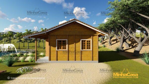 Minha casa pré fabricada modelo Tabuleiro 02