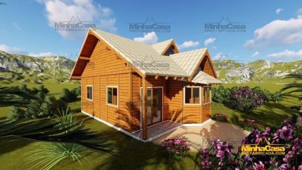 Minha casa pré fabricada modelo Tijucas 02