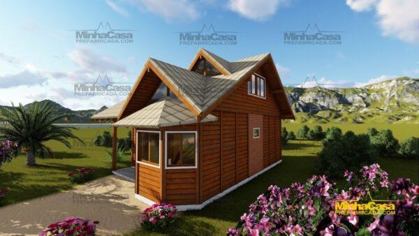 Minha casa pré fabricada modelo Tijucas 03