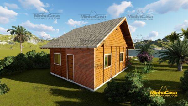 Minha casa pré fabricada modelo Tijucas 06