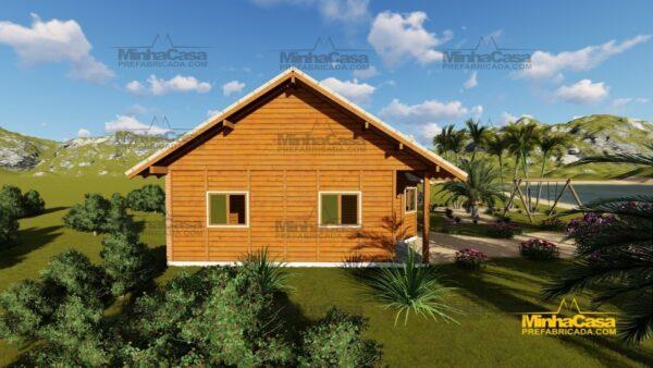 Minha casa pré fabricada modelo Tijucas 07