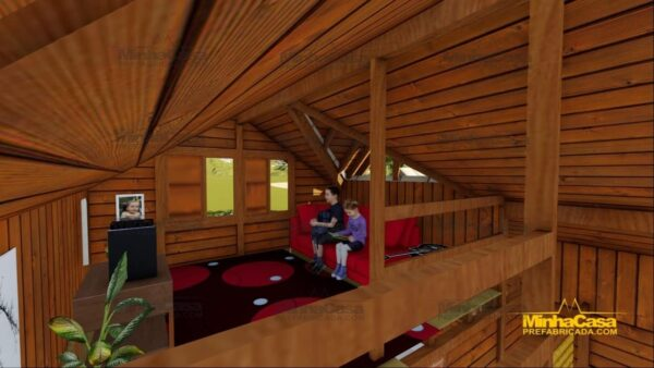 Minha casa pré fabricada modelo Tijucas 09