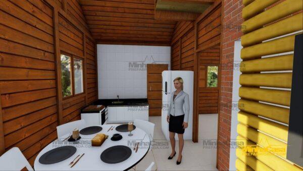 Minha casa pré fabricada modelo Tijucas 12