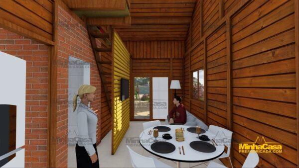 Minha casa pré fabricada modelo Tijucas 13