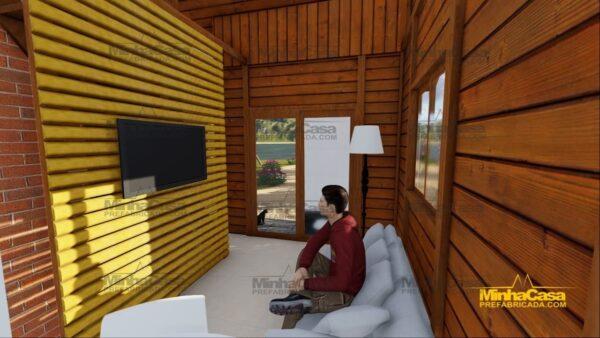 Minha casa pré fabricada modelo Tijucas 14