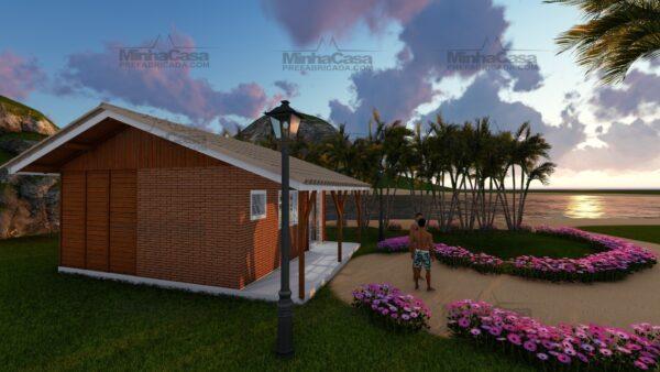 Minha casa pré fabricada modelo Joinville 17