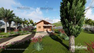 casa de tijolo ecológico te05-5