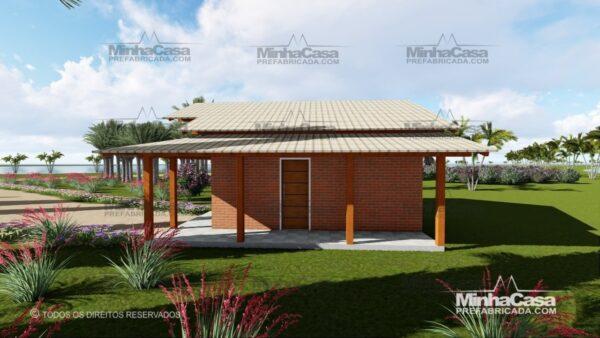 casa de tijolo ecológico te05-2