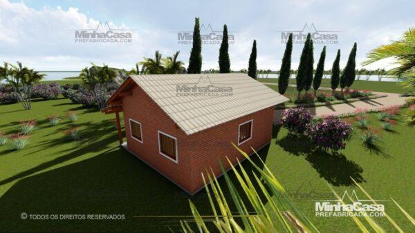casa de tijolo ecológico te05-14
