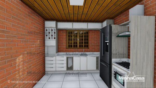Minha casa pré fabricada modelo Pop 3.2 07