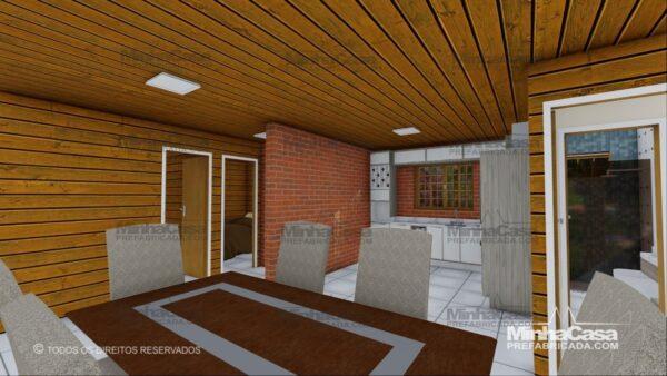 Minha casa pré fabricada modelo Pop 3.2 08