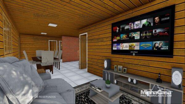 Minha casa pré fabricada modelo Pop 3.2 09
