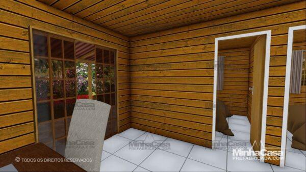 Minha casa pré fabricada modelo Pop 3.2 13