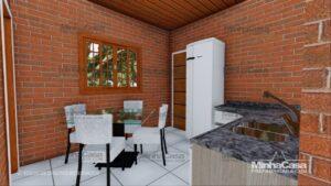 Minha casa pré fabricada modelo Tijolo ecologico 90,25M² 13