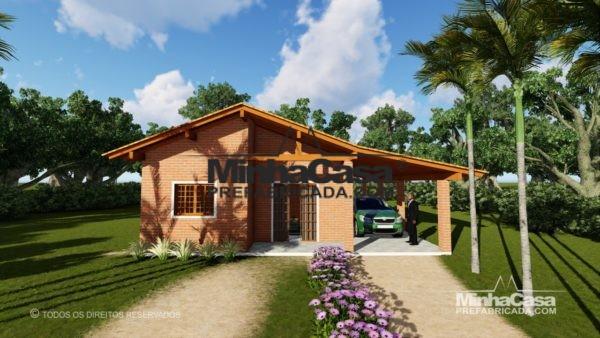 casa de tijolo ecologico
