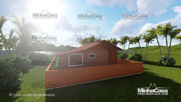Minha casa pré fabricada modelo Pop 2.2 09