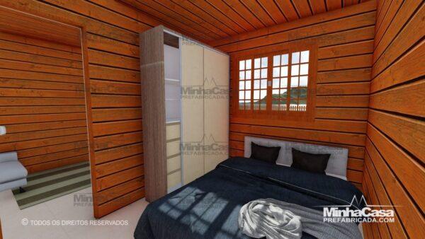 Minha casa pré fabricada modelo Pop 2.2 13
