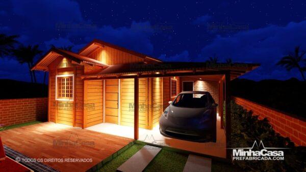casas pré fabricadas com garagem