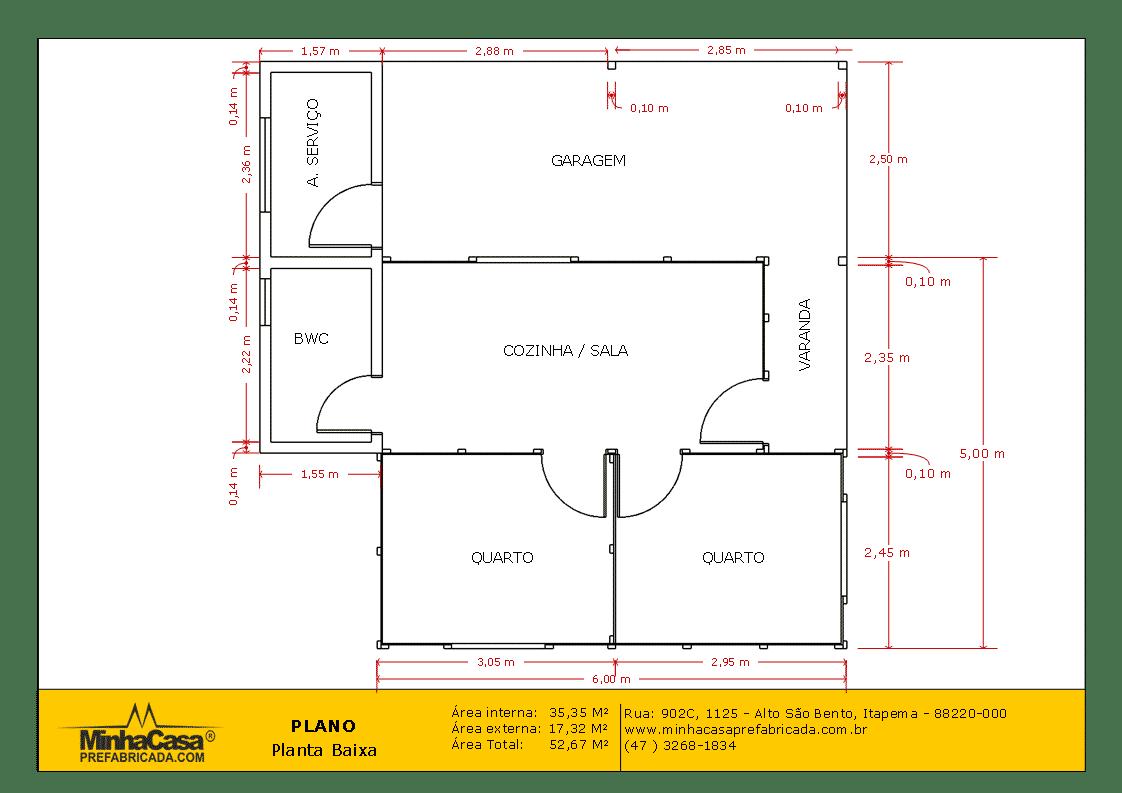 planta baixa modelo pop 2.2