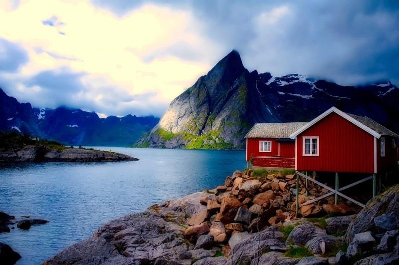 Cabana para hospedagem