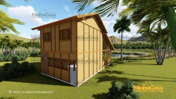 Minha casa pré fabricada modelo Ouro Preto 04