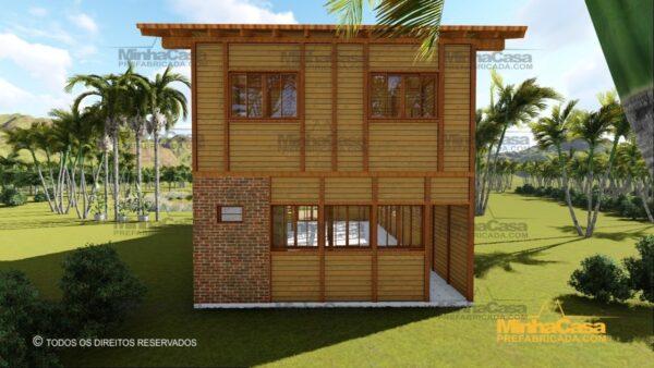 Minha casa pré fabricada modelo Ouro Preto 05