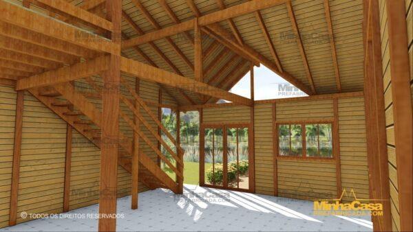 Minha casa pré fabricada modelo Ouro Preto 07