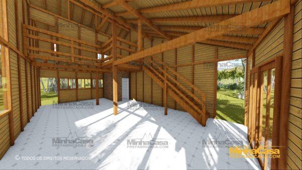 Minha casa pré fabricada modelo Ouro Preto 11