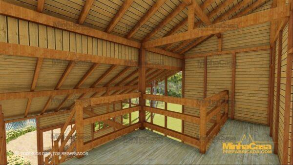 Minha casa pré fabricada modelo Ouro Preto 12