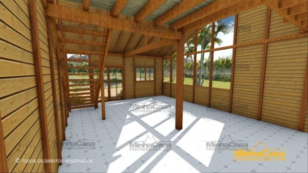 Minha casa pré fabricada modelo Ouro Preto 14