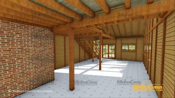 Minha casa pré fabricada modelo Ouro Preto 15