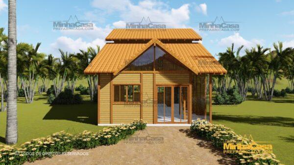 Minha casa pré fabricada modelo Ouro Preto 18