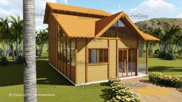 Minha casa pré fabricada modelo Ouro Preto 22