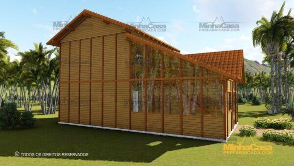 Minha casa pré fabricada modelo Ouro Preto 23