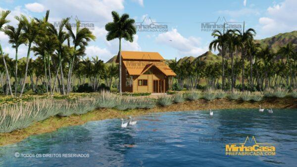 Minha casa pré fabricada modelo Ouro Preto 25