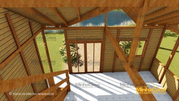 Minha casa pré fabricada modelo Ouro Preto 26