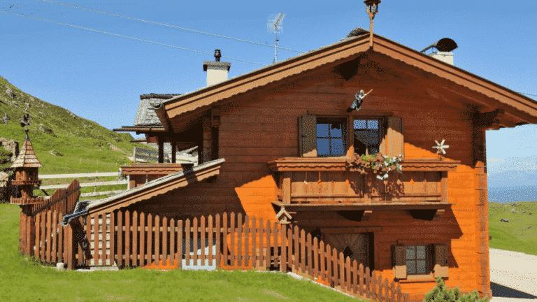 Casas de ,madeira de pisos
