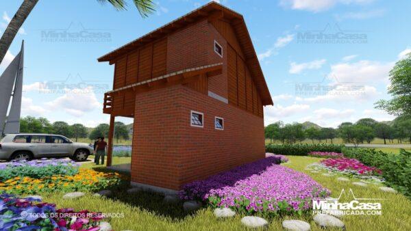 Casa de madeira modelo itapocu 03