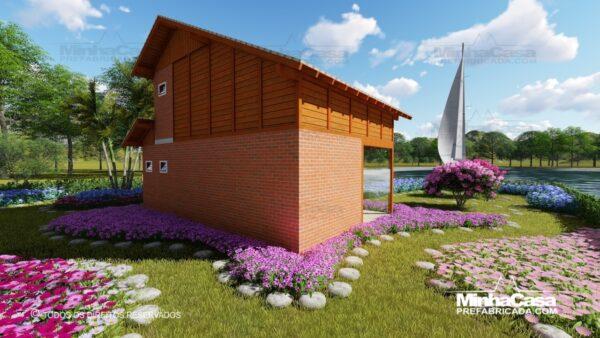 Casa de madeira modelo itapocu 04