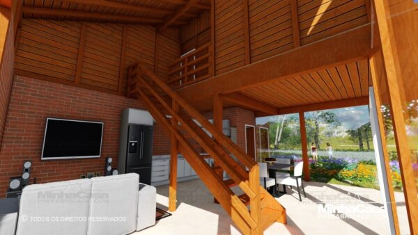 Casa de madeira modelo itapocu 07