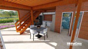 Casa de madeira modelo itapocu 08