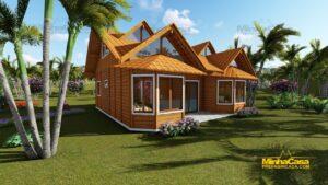 casas de madeira pré fabricada 2