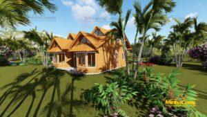 casas de madeira pré fabricada 4